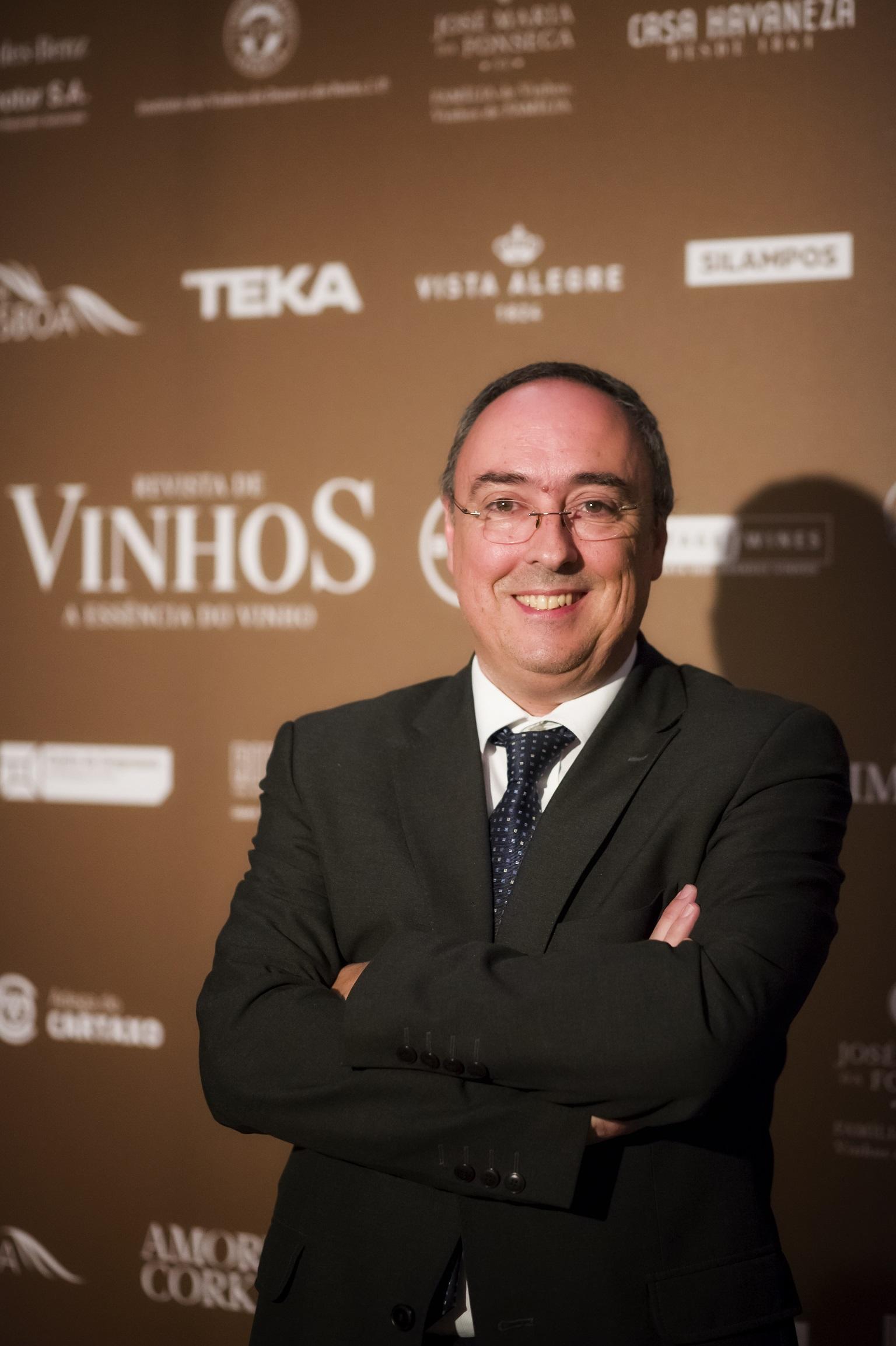 Manuel Pinheiro - Personalidade do Ano no Vinho
